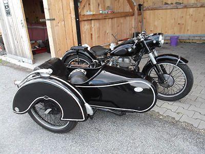 1952 bmw r25 2 steib ls 200 sidecar bikes trikes. Black Bedroom Furniture Sets. Home Design Ideas