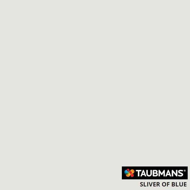 #Taubmanscolour #sliverofblue