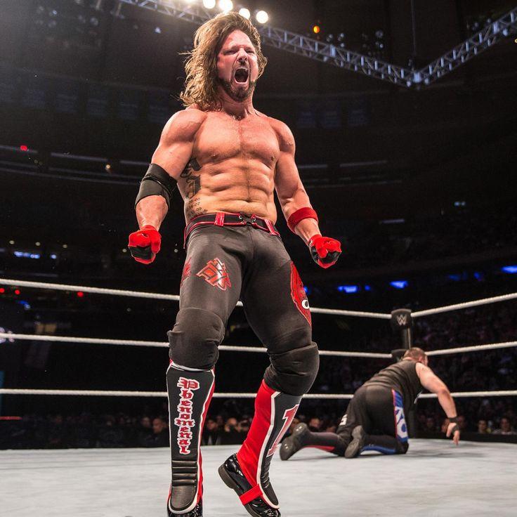 AJ Styles vs. Kevin Owens — U.S. Titel Match im Madison Square Garden: Fotos