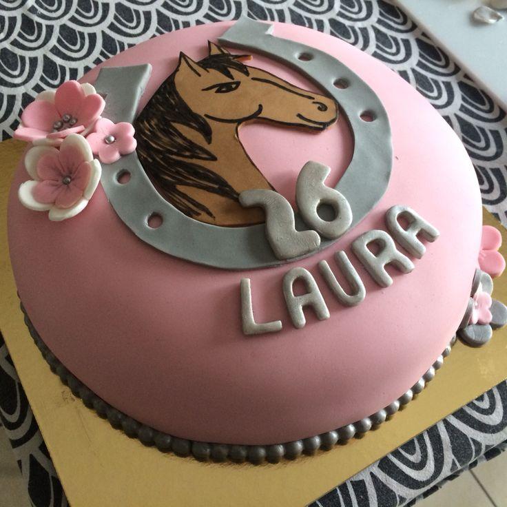 Horse Birthday cake  Gâteau cheval