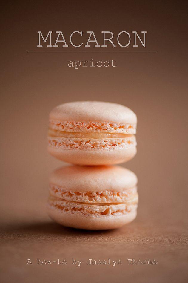 Hazelnut Macarons with Strawberry Buttercream Filling Recipe