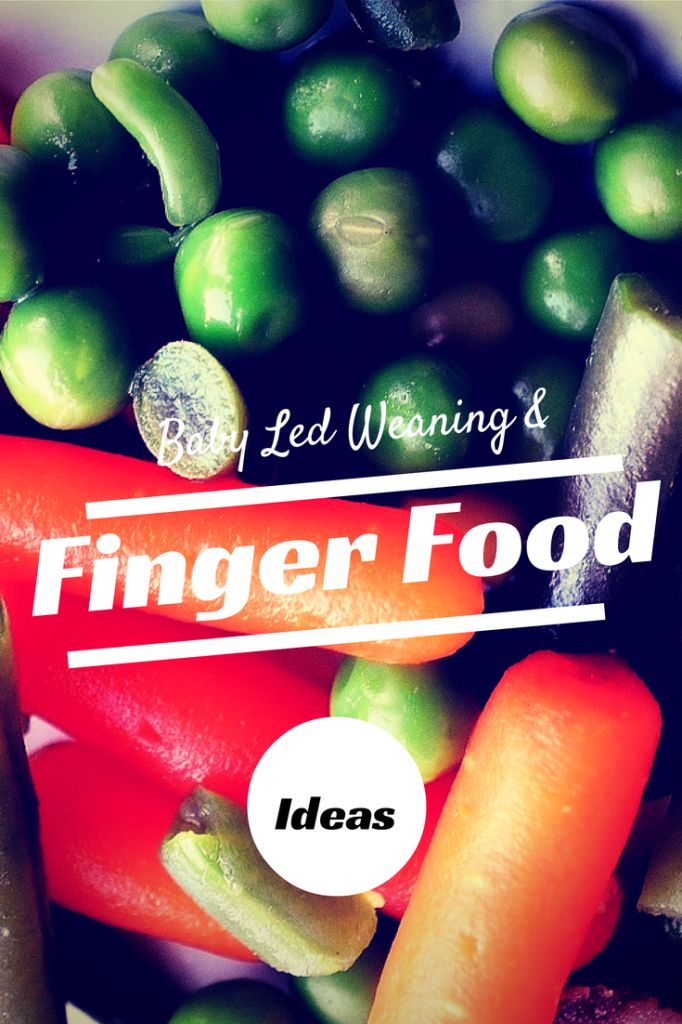 Baby Led Weaning and Finger Food Ideas #Weaning #BLW