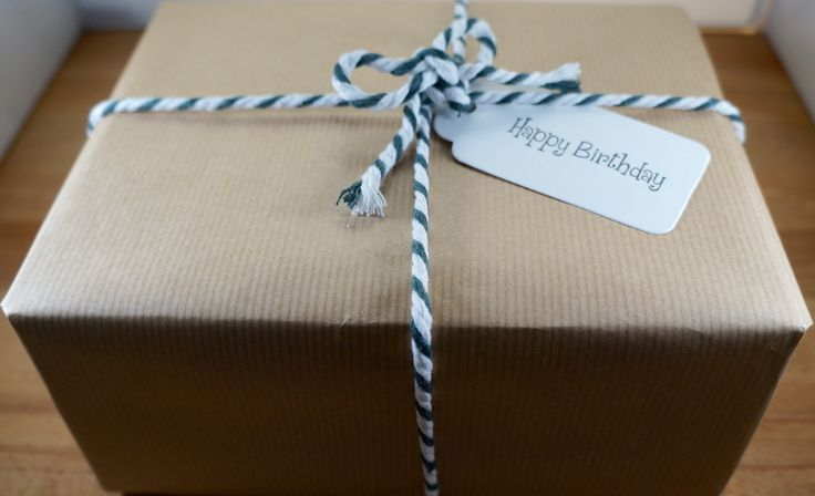 Birthday Gift Wrapping service at Marvellous Mustard - the home of the original mustard making kit