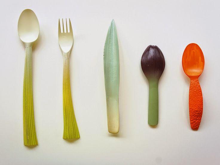 Аппетитная посуда от Qiyun Deng. Прект Qiyun Deng для финального этапа проектирования в Университете Искусств и Дизайна станет популярным не только среди любителей здорового образа жизни и питания, но и у защитников природы. Подробнее: http://inside.vision/qiyun-deng/