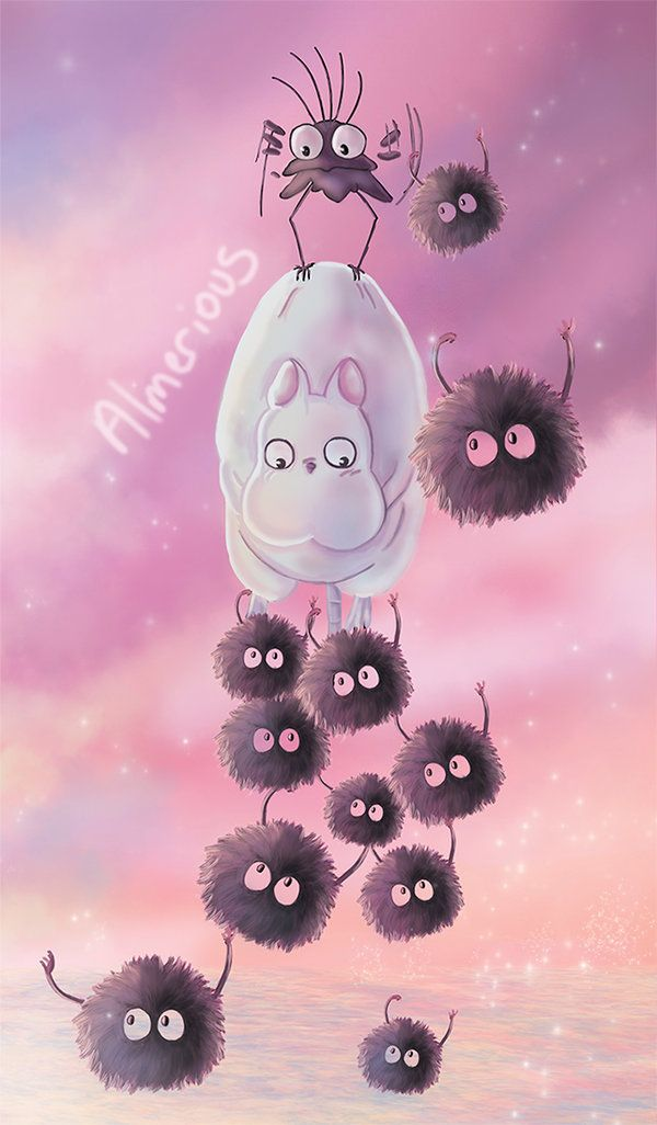 Flying fluff balls by Almerious on DeviantArt