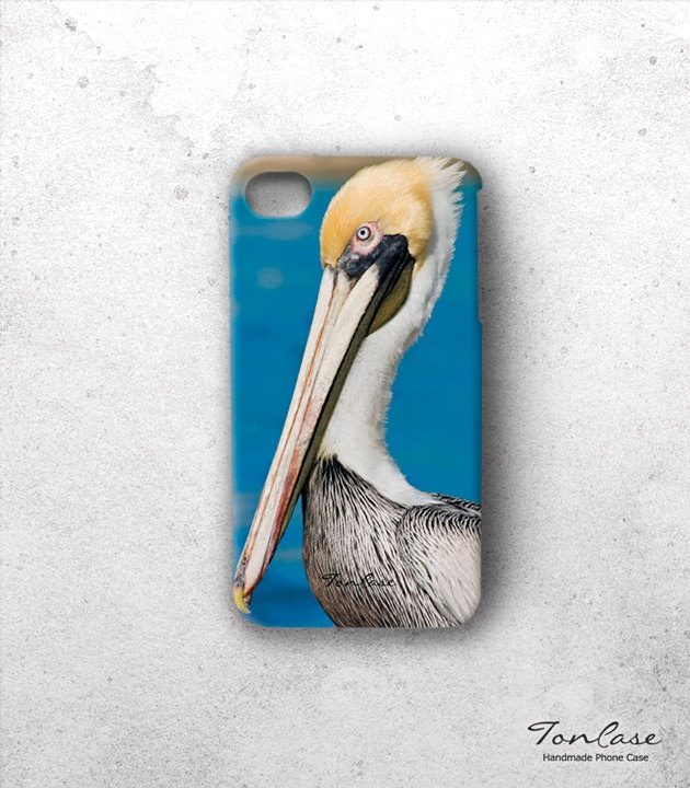 Animal iPhone 4 case - FREE SHIPPING, iphone 4s case, handmade phone case, gift wrapping, hard case - pelican animal (c48). $29.90, via Etsy.