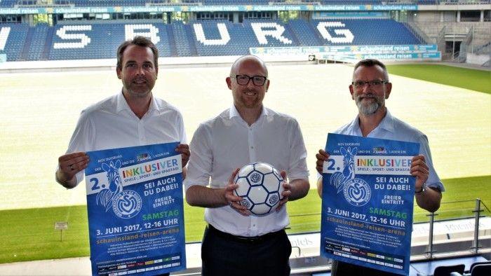 MSV Duisburg:  Sören Link ist Schirmherr des 2. Inklusiven Spiele- Sport- und Spaßtages