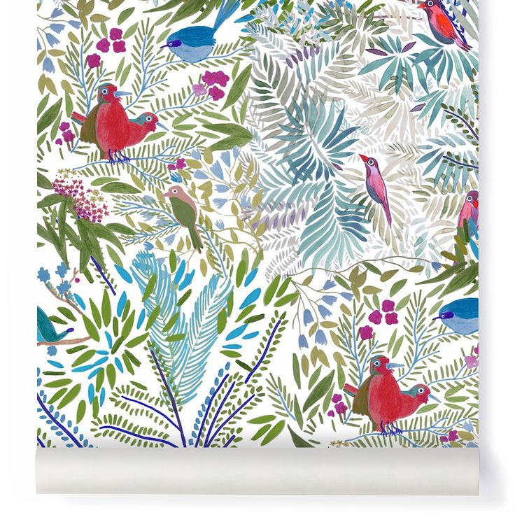 Jazz Mousse Wallpaper Little Cabari Children- A large selection of Design on Smallable, the Family Concept Store - More than 600 brands.