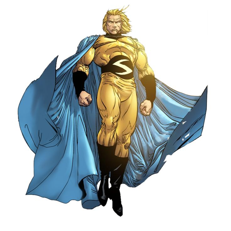 "The Sentry (Robert ""Bob"" Reynolds) is a fictional character, a superhero in the Marvel Comics Universe. Description from vsbattles.wikia.com. I searched for this on bing.com/images"