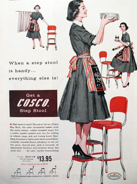 Get A Cosco Step Stool 1957 Advertisement
