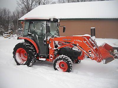 heavy-equipment: Kubota L3240 4x4 Cab Loader Compact Tractor 450 Hours #HeavyEquipment - Kubota L3240 4x4 Cab Loader Compact Tractor 450 Hours...