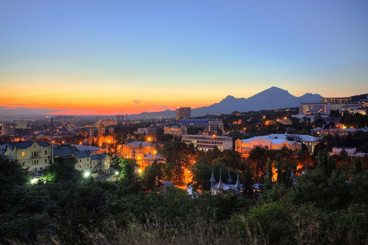 Pyatigorsk Sunset Russia, Caucasus  One of my MOST favorite places...ever, ever!!