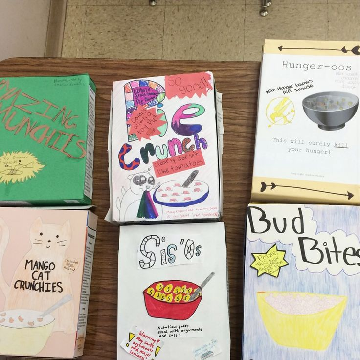 Cereal Box book reports Steven Noyes 4th Grade Pinterest - cereal box book report sample