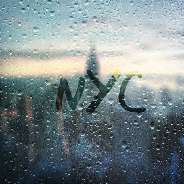 """""""Oh, come forth into the storm and rout And be my love in the rain."""" ― Robert Frost (at New York City, NY)"""