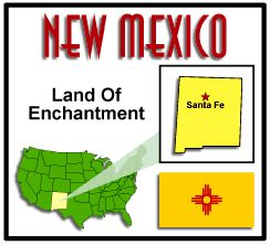 State facts about New Mexico