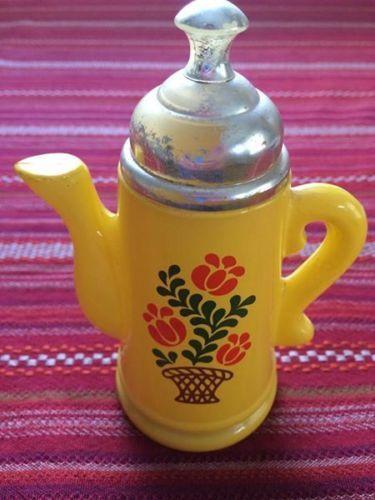 Vintage-Avon-Koffee-Klatch-Foaming-Bath-Oil-Glass-Bottle