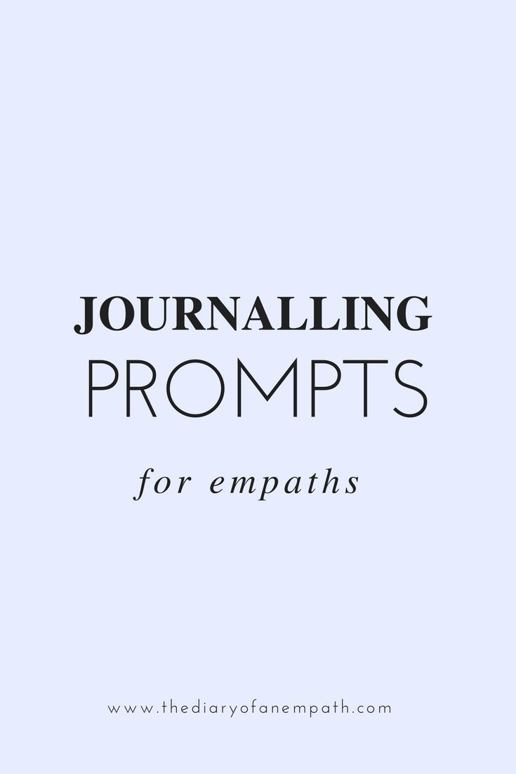 Journalling prompts for empaths | Journaling + Planners | Mental