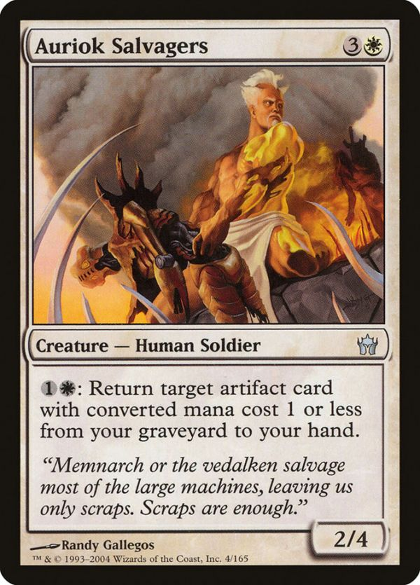 Auriok Salvagers Cards Magic The Gathering The Gathering