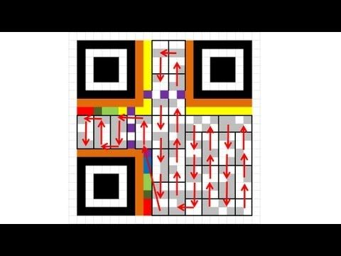 How to Decode a QR Code by Hand - YouTube