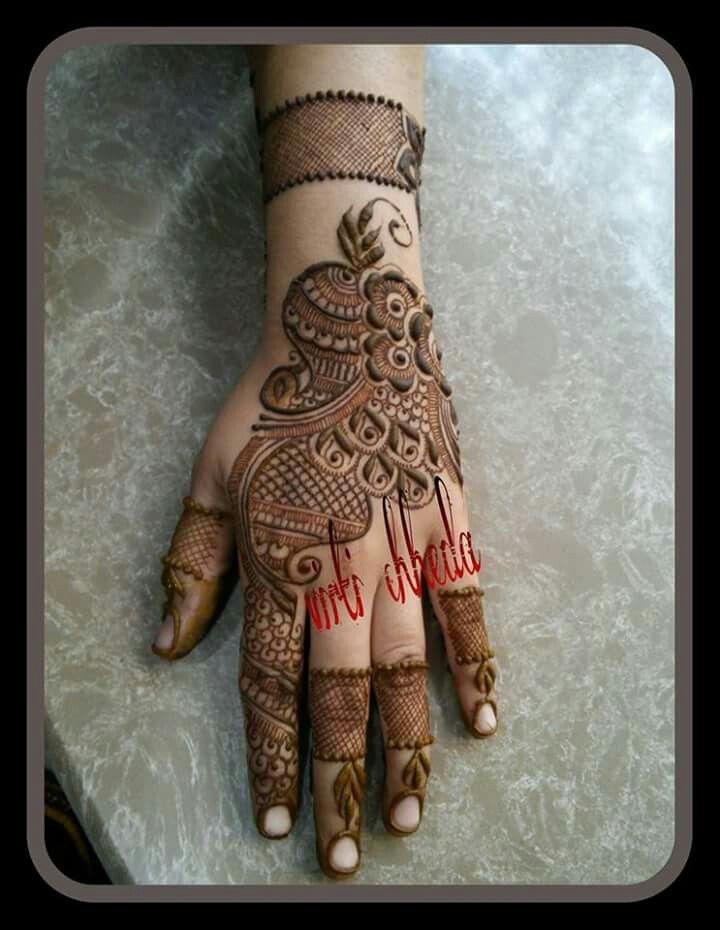 #VritiChheda heena bridal mehendi