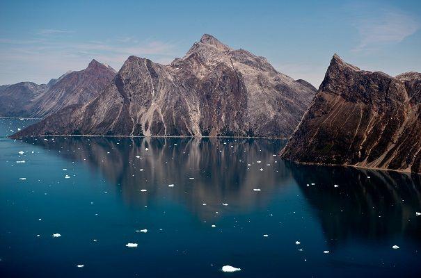 The receding of Arctic ice - Tracking has begun #Area, #Bay, #Frozen, #Town
