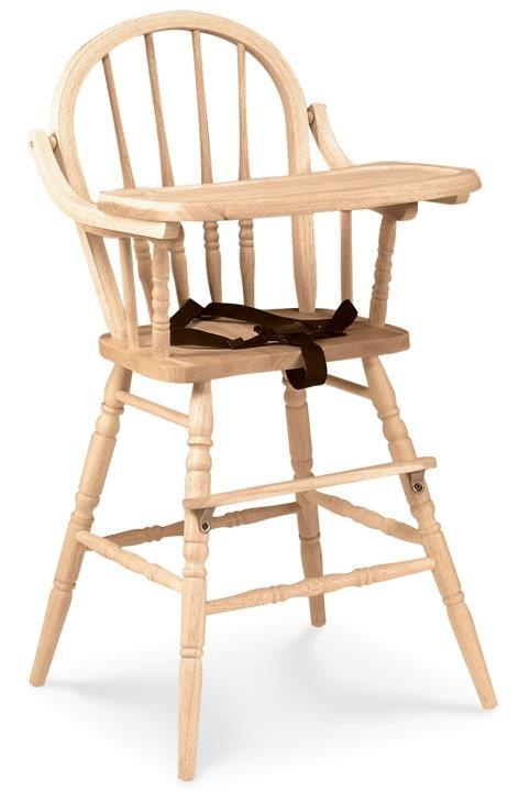 I Would LOVE A Wooden Baby High Chair, But Since They Are Rare, A