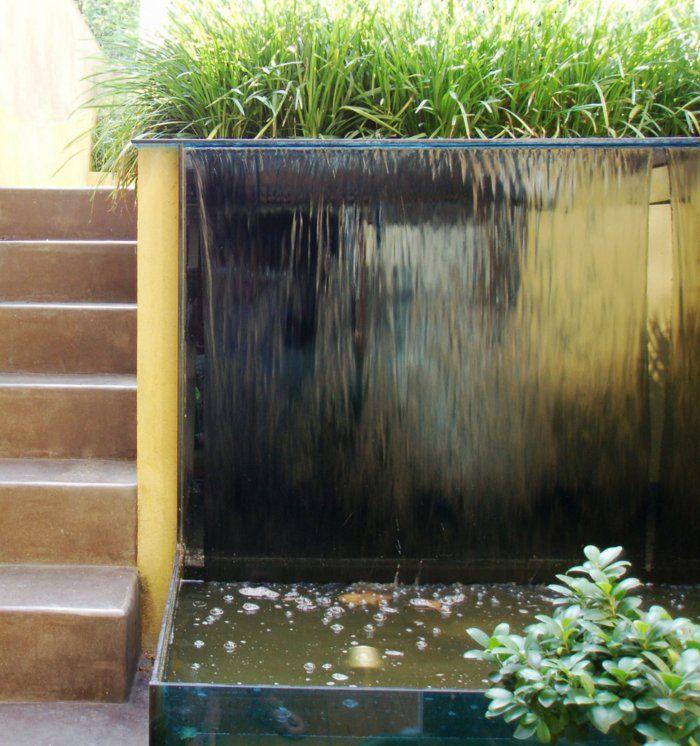 Garten Wasserfall Selber Bauen Moderne Gartengestaltung