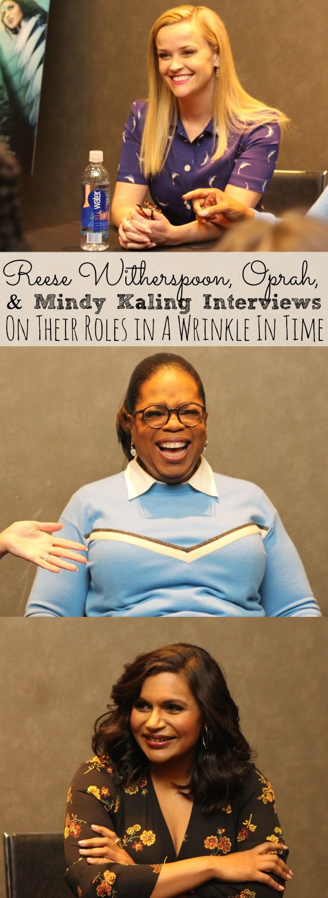 Do dreams come true? Well for 25 social media influencers it sure did! Check out our Interviews with Reese Witherspoon, Oprah, and Mindy Kaling as we discussed their roles as the Mrs. in A Wrinkle In Time. - simplytodaylife.com via @SimplyTodayLife