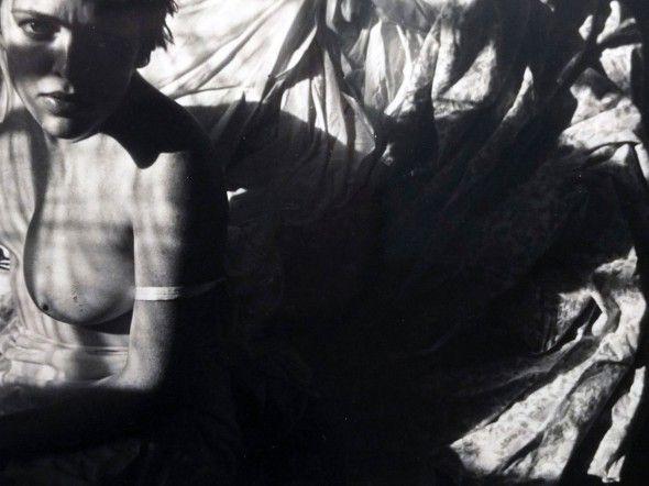 Saul Leiter, Barbara, ca. 1951. © Saul Leiter / Courtesy Howard Greenberg Gallery, New York.