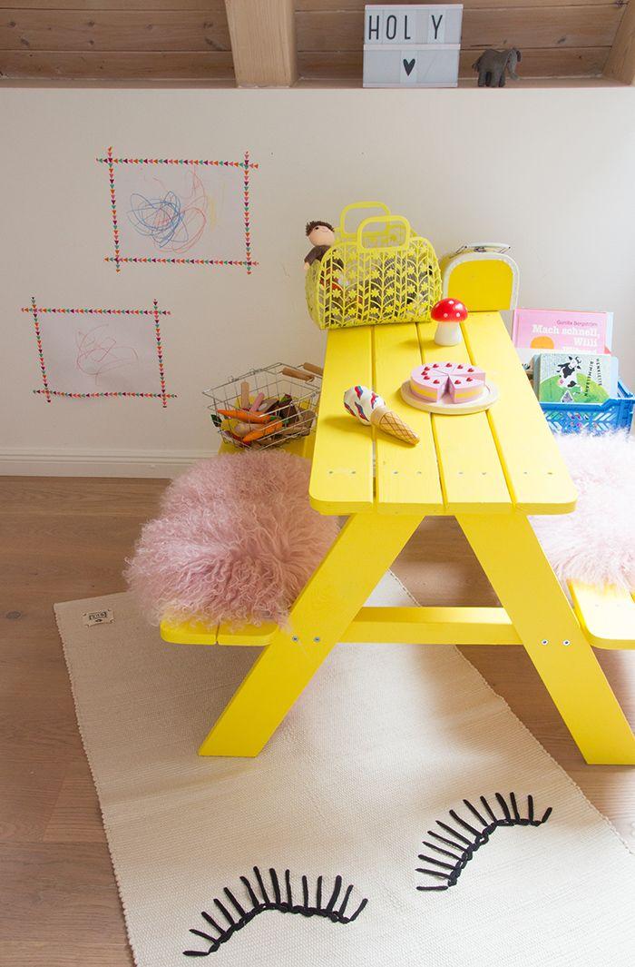 Simple DIY-Ideen für Kinderzimmer auf ohhhmhhh.de