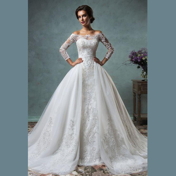 dentelle Tulle robe de mariée robes de mariée robe de noiva robe de ...