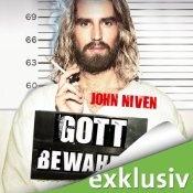 Hörbuch: Gott Bewahre von John Niven. Gelesen von Gerd Köster. Zum Trailer und der Hörprobe: http://www.audible.de/pd/B005HVF87M?source_code=ADEOR900IWS021712