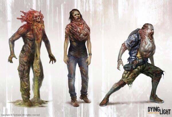 Zombie Drawings By Waldek Kaminski