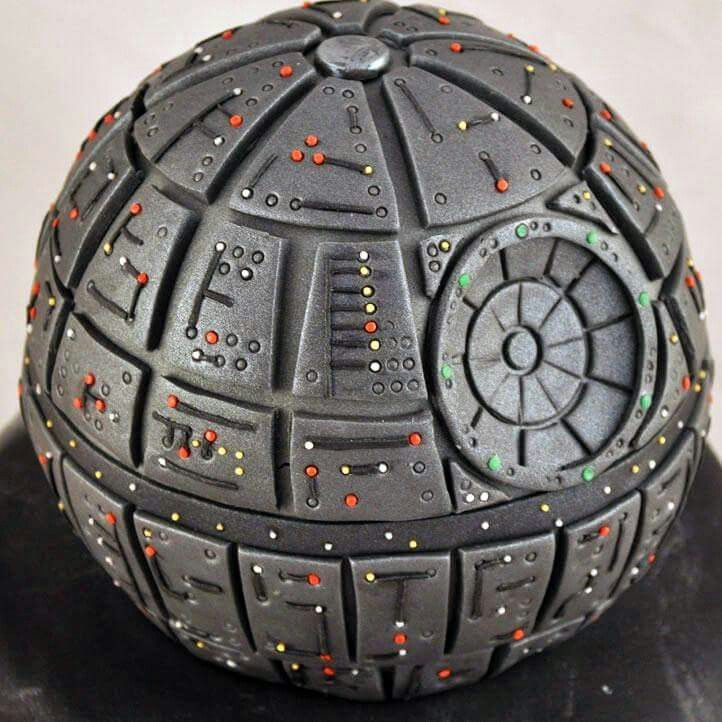 Death star cake                                                                                                                                                                                 Plus
