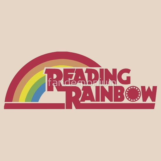 Reading Rainbow shirt – Netflix, LeVar Burton