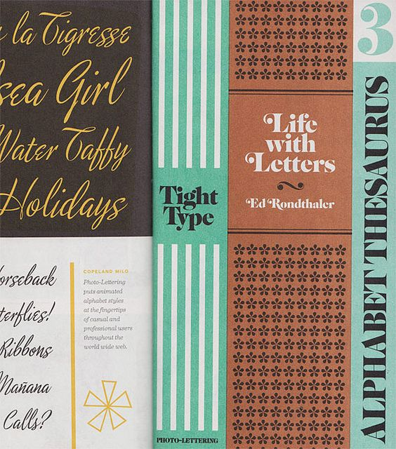 The Typofiles No.86 - Photo-Lettering Inc. Catalog