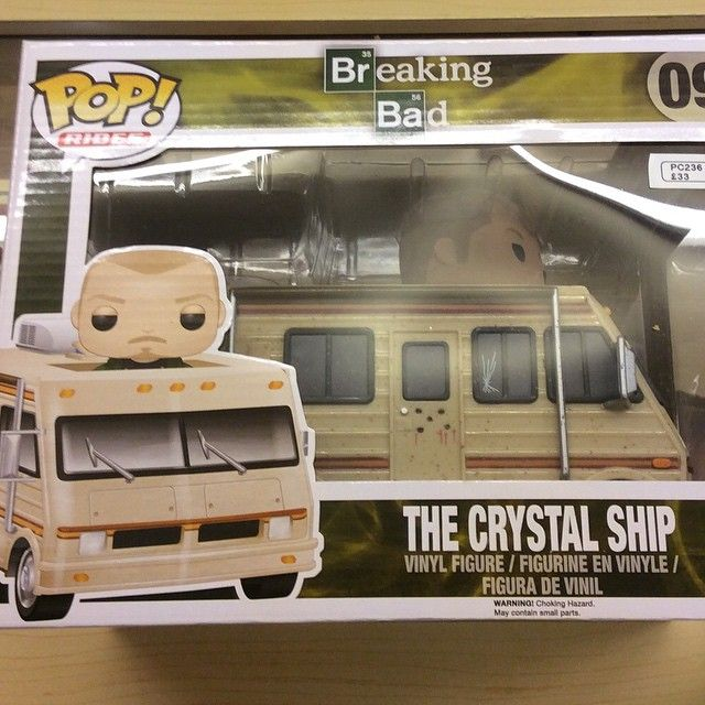 """""""The Crystal Ship RV Funko pop vehicle perfect for cooking up a storm complete with Jesse as driver £33 #breakingbad #jessepinkman #heisenberg #funko"""" Photo taken by @diversionsgifts.co.uk on Instagram, pinned via the InstaPin iOS App! http://www.instapinapp.com (07/02/2015)"""