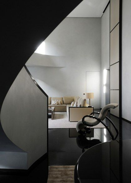 Italy~~In the heart of Milan's fashion district  Armani Hotel Milano  Italy