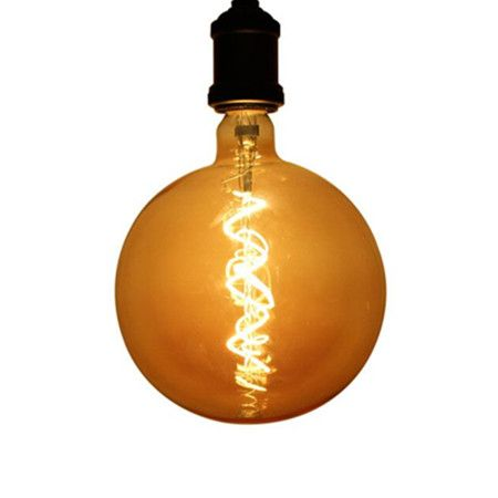 Oversize G200 LED Filament Bulb    Model  NO. G200   Power: 4W   Voltage: AC110-130V /AC220-240V /AC85-265V   Base: E27  /  E26  / E40 /E39   Size: Φ200x290mm   CCT: 2200K/2700K   LED QTY 1 PCS   Substrate: Ceramic   Lumens: 50lm/watt   CRI(Ra): 90   Cover: Clear/ Amber   Packing  1unit/box   Warranty: 2 Years       G200 Dimmable  LED Filament Bulb Features      	High Light efficiency: The Whole Light efficiency is more than 100lm/w  	High CRI...