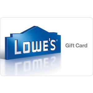 Buy $100 Lowes Gift Card for $90!