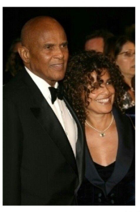 Harry & Daughter Shari Belafonte