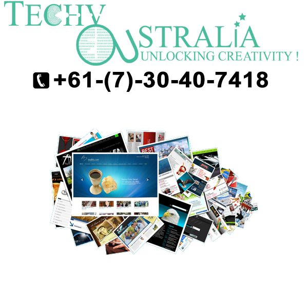 Website design company in Australia Techy-Australia- +61-(7)-30-40-74-18
