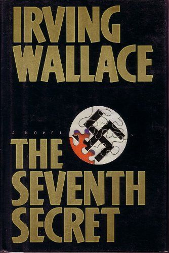 The Seventh Secret by Irving Wallace,http://www.amazon.com/dp/0525243828/ref=cm_sw_r_pi_dp_Jg6htb1DYZSXGG67 WAL Every week a tall, attractive, older woman named Evelyn Hoffmann make her regular visit to the bustling downtown district of West Berlin