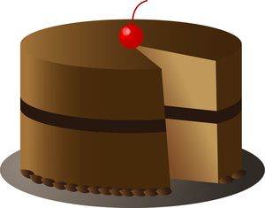 Free Clip Art Layer Cake : 18 best images about Cake Clipart on Pinterest Chocolate ...
