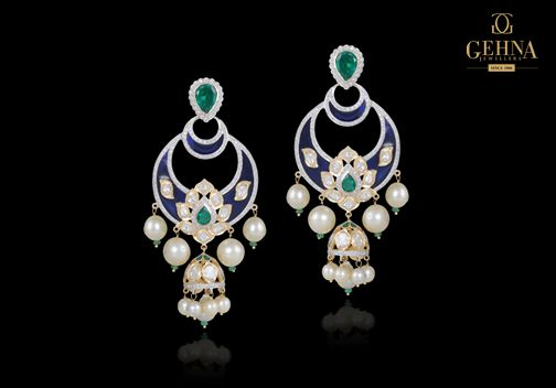 Glam up your look with a gorgeous pair of earrings!