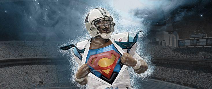 17 best images about cam newton superman on pinterest