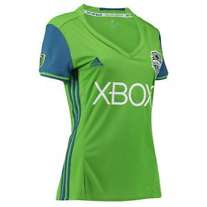 a adidas mujer senoras futbol seattle sounders anfitriones camisa jersey 2016