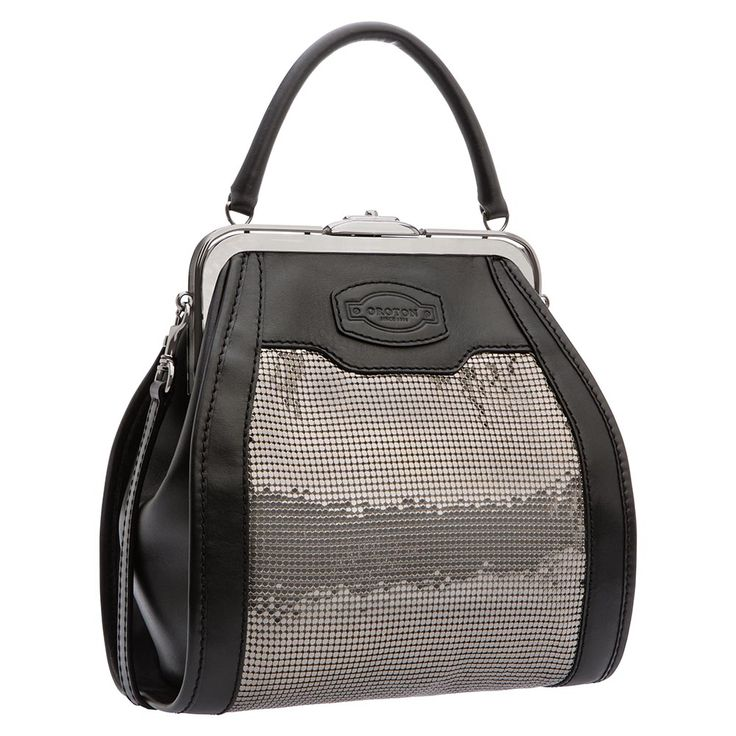 archive mesh grip top | Oroton Luxury Accessories