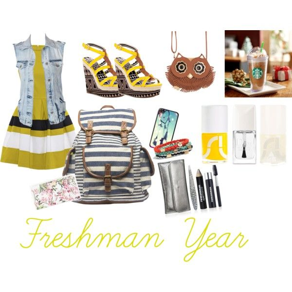 Back to school Freshman outfit