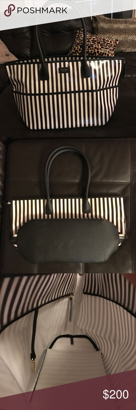 Henri Bendel Dog Carrier 🐶👜 Authentic NWT Henri Bendel dog carrier. From the current collection in stores. henri bendel Bags